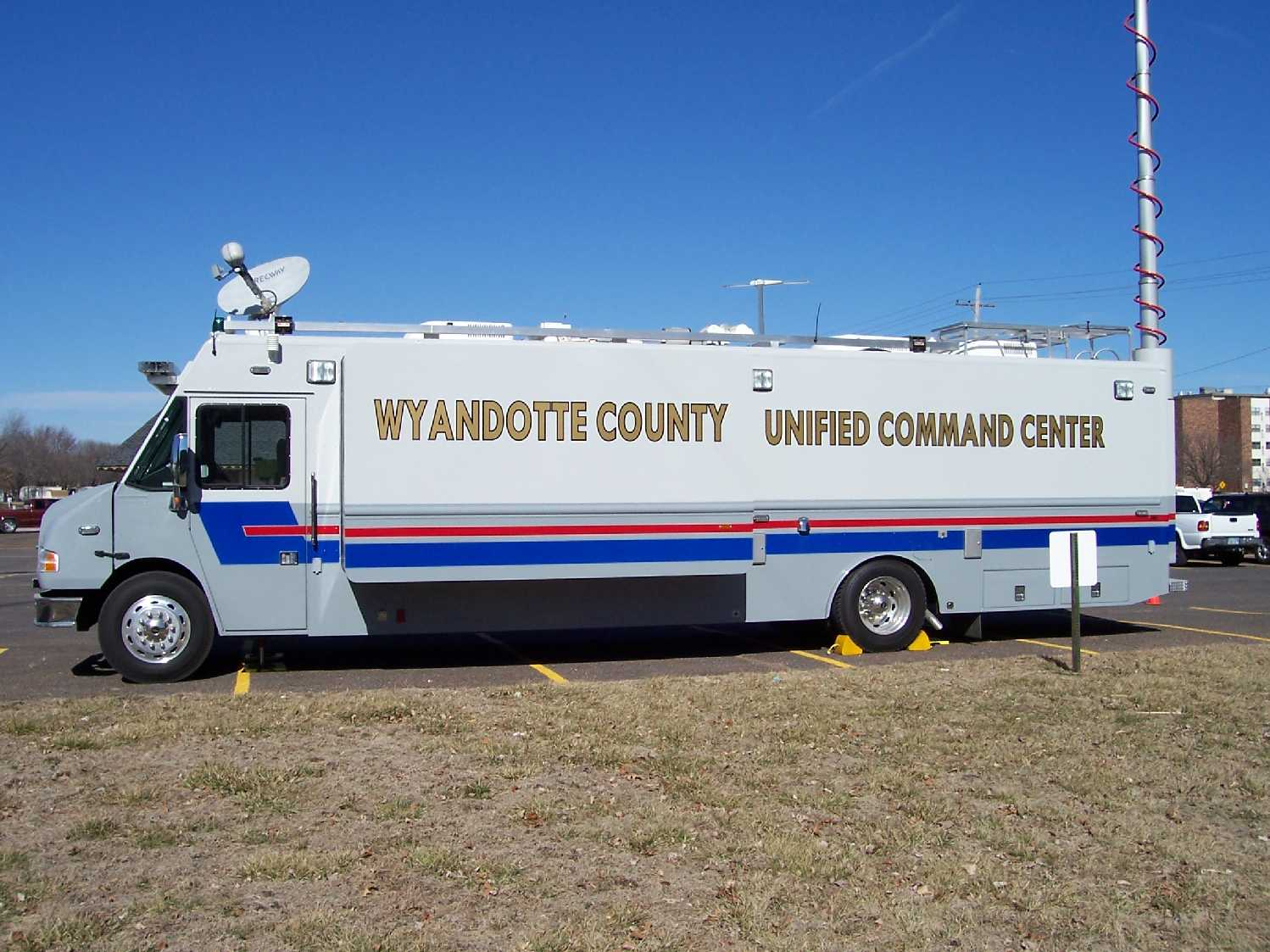 Mobile Command Truck