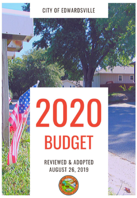 2020 budget cover